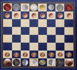 Coin Chessboard